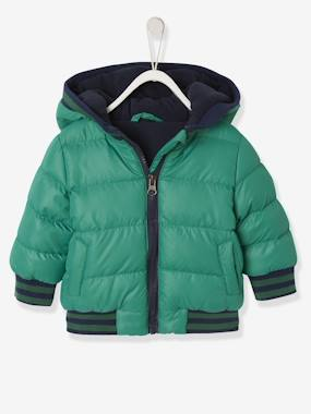 Vertbaudet Collection-Baby-Jacket With Hood, For Baby Boys