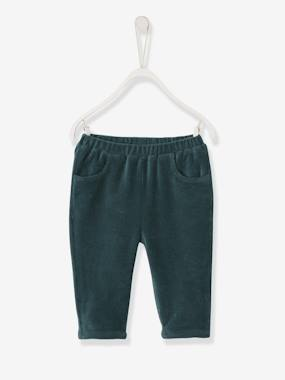 Baby-Trousers & Jeans-Corduroy Trousers with Lining for Newborn Baby