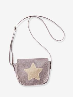 Girls-Accessories-Bags-Handbag with Glitter & Star, for Girls