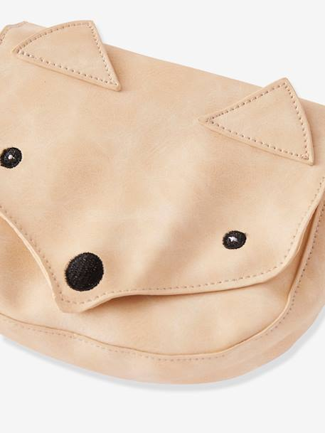 Fox Handbag, for Girls BROWN MEDIUM SOLID WITH DESIGN - vertbaudet enfant