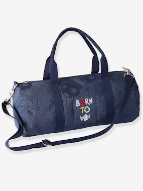 Boys-Sportswear-Sports Bag with Football Print, for Boys