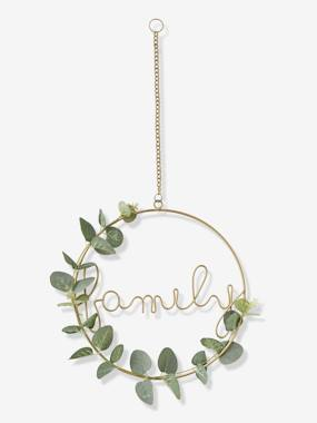 Bedding & Decor-Decoration-Decorative Wreath, Family