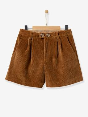 Girls-Shorts-Girl's high-waist shorts