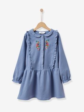 Girls-Girl's embroidered dress