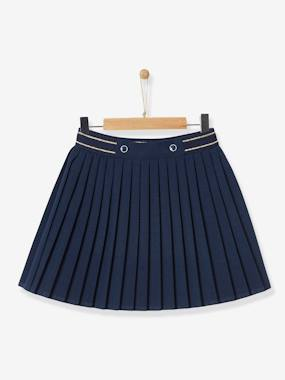 Vertbaudet Collection-Girls-Skirts-GIRL'S PLEATED SKIRT