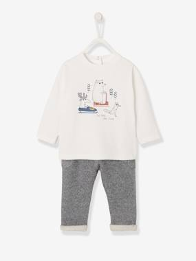 Baby-Top & Trouser Outfit, for Baby Boys