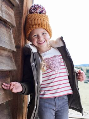 Girls-Accessories-Beanie with Pompom