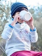 Sweatshirt with Fancy Collar & Camping Motif, for Boys  - vertbaudet enfant