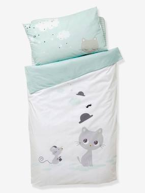 Baby outfits-Bedding & Decor-Baby Duvet Cover, Catnip Theme