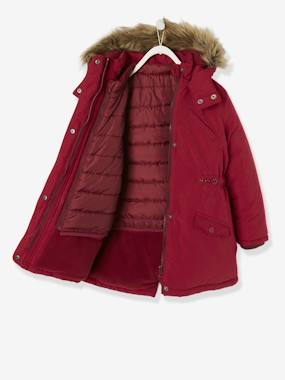 Vertbaudet Collection-Girls-3-in-1 Parka for Girls