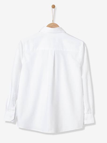 BOY'S OXFORD SHIRT White - vertbaudet enfant