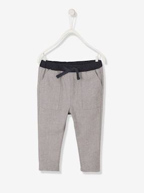 Baby-Trousers & Jeans-Trousers in Fancy Fabric for Baby Boys