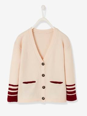 Girls-Cardigans, Jumpers & Sweatshirts-Cardigans-Long Cardigan for Girls