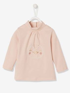 Baby-T-shirts & Roll Neck T-Shirts-Roll Neck T-Shirts-Fancy Top for Baby Girls