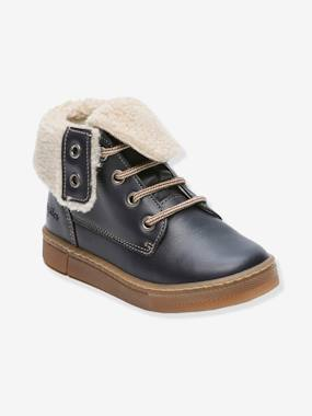 Shoes-Boys Footwear-Shoes-Leather Boots with Fur, for Boys, Karasjokfl by Babybotte®