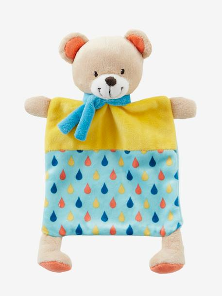 Bear Blanket Soft Toy for Baby Muticolour - vertbaudet enfant