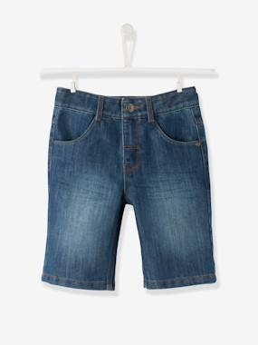 Short & Bermuda - Vertbaudet Fashion specialist for kids and baby : clothing, shoes and accessories-Bermuda garçon en denim