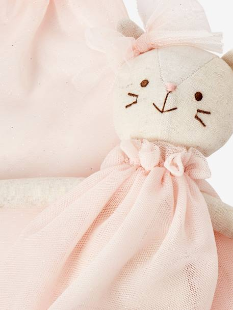 Dancing Cat Doll PINK MEDIUM SOLID WITH DESIG - vertbaudet enfant