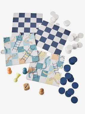 Toys-Traditional Games-Snakes & Ladders + Draughts