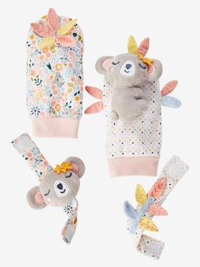 Toys-Cuddly Toys, Comforters & Soft Toys-Koala Wrist Rattles & Footfinder