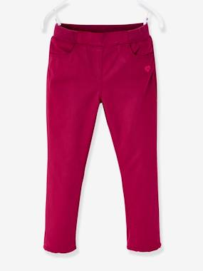 Girls-Trousers-Indestructible Trousers Lined in Polar Fleece, for Girls