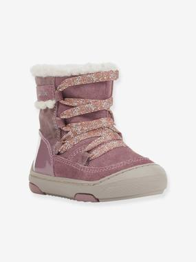 Vertbaudet Collection-Shoes-Fur-Lined Boots for Baby Girls, B Jayj Girl C, by GEOX®