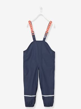 Vertbaudet Collection-Girls-Trousers-Waterproof Trousers for Kids