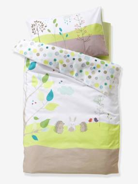 Vertbaudet Sale-Bedding-Baby Duvet Cover, Picnic Theme