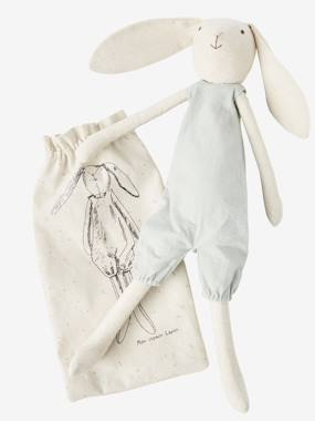 Toys-Cuddly Toys, Comforters & Soft Toys-Linen Cuddly Toy, My Friend Mr Rabbit