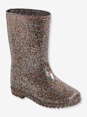 Schoolwear-Shoes-Glittery Wellies, for Girls
