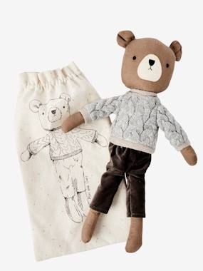 Toys-Cuddly Toys, Comforters & Soft Toys-Dressed Bear