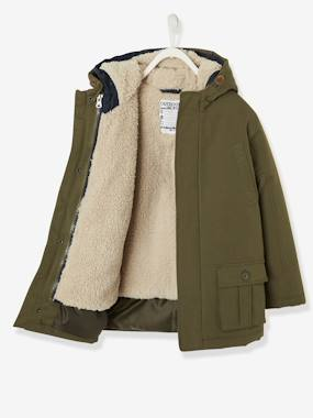 Vertbaudet Collection-Boys-3-in-1 Parka, for Boys