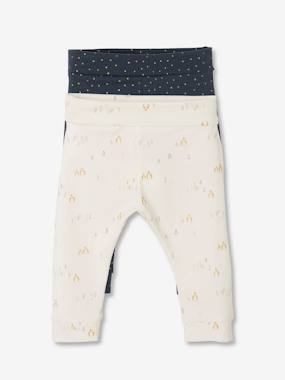 Baby-Pack of 2 Pairs of Leggings for Newborn Baby