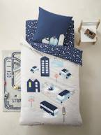 Children's Duvet Cover + Pillowcase Set, CITY  - vertbaudet enfant