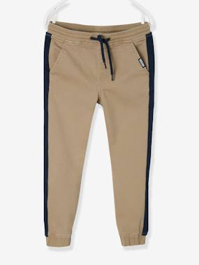 Boys-Trousers-Joggers with Stripes Along the Legs, for Boys