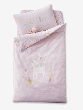 Bedding & Decor-Baby Bedding-Duvet Cover for Babies, PETIT CHAT