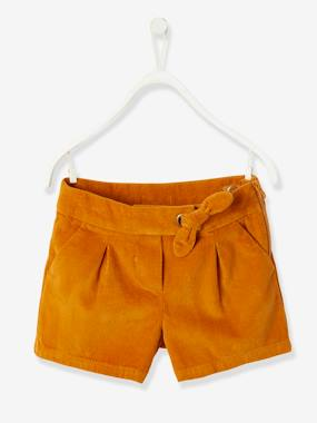 Girls-Shorts-Corduroy Shorts, for Girls