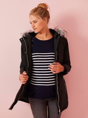 Maternity-3-in-1 Adaptable Maternity & Post-Maternity Parka