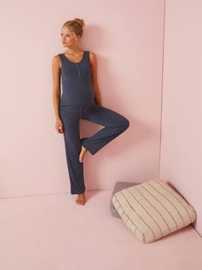 Maternity-Nightwear & Loungewear-2-Piece Loungewear Set, Nursing & Maternity Special