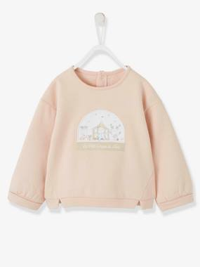 Christmas collection-Baby-Jumpers, Cardigans & Sweaters-'Mon petit cirque de Noël' Sweatshirt, for Baby Girls