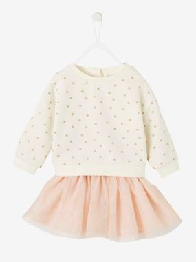 Baby-Outfits-Sweatshirt & Tulle Skirt, Christmas Special, for Baby Girls