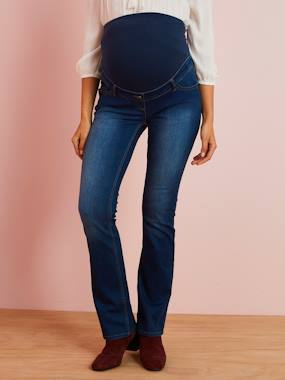 Maternity-Jeans-Bootcut Jeans, for Maternity