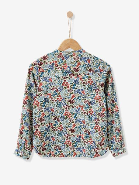 Blouse en tissu Liberty fille CYRILLUS Liberty sweet may - vertbaudet enfant