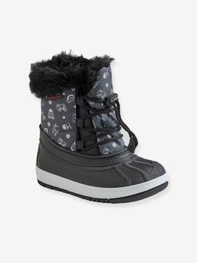 Shoes-Boys Footwear-Boots-Laced Snow Boots, for Boys