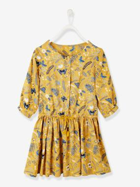Vertbaudet Collection-Girls-Dresses-Printed Dress, for Girls