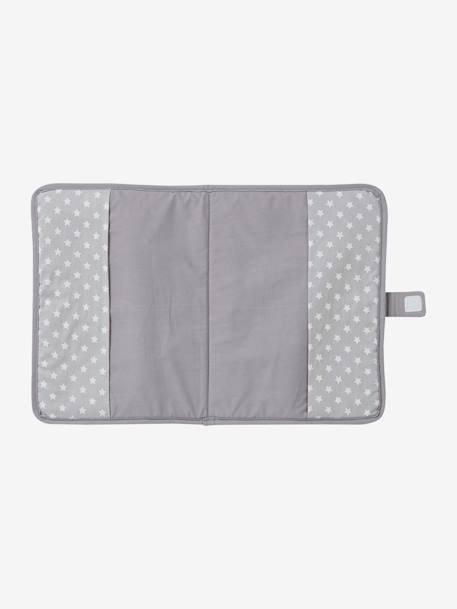 Medical Records Cover Grey+Pink - vertbaudet enfant