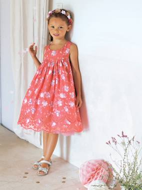 Party collection-Girls-Girls Printed Occasion Dress