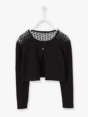 Festive favourite-Girls-Girls' Lace Cardigan
