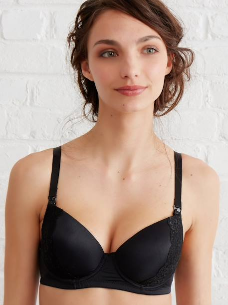 Body Sculpting Nursing Bra Black - vertbaudet enfant