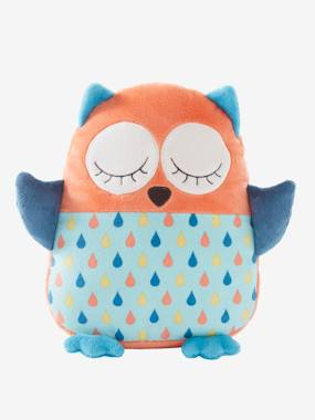 christmas-Plush Owl Cushion